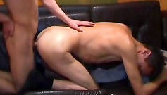 I teach this twink to fuck like a real hunk